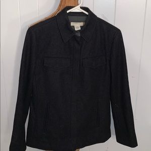 J.Crew Gray Blend  Wool Jacket XS
